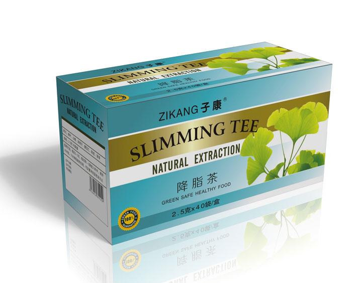 Lipid-lowering tea