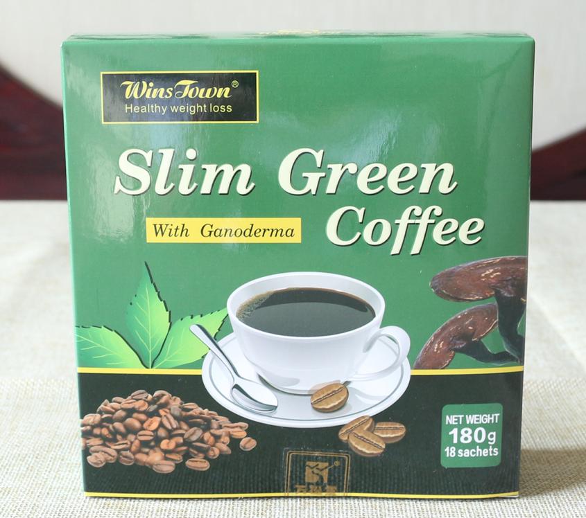 Slim Green Coffee with Ganoderma