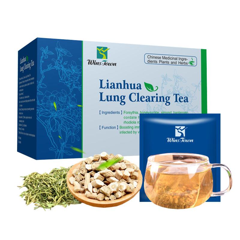 Lianhua qingwen tea